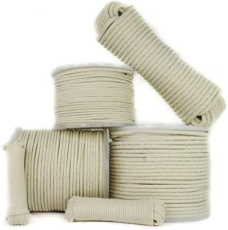 SGT KNOTS Cotton Sash Cord All Purpose Rope for Window Sashing Tying Clotheslines and Decorative product image