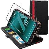 ebestStar - Coque Compatible avec Samsung A50 Galaxy SM-A505F Etui Portefeuille Housse PU Cuir...