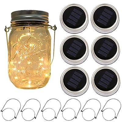CHBKT Warm White Mason jar Light