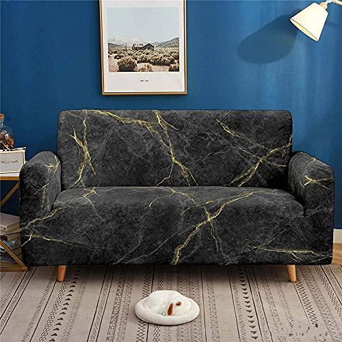 ADIS 3D Digital Art Texture - Funda elástica para sofá con textura antideslizante para todas las estaciones, 1, 2, 3, 4 plazas, 235 – 300 cm