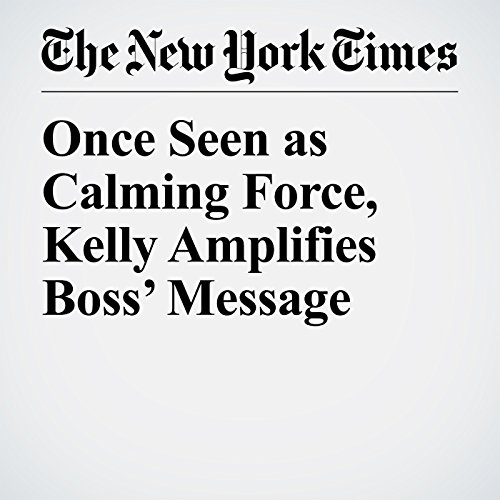 Once Seen as Calming Force, Kelly Amplifies Boss' Message copertina