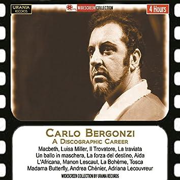 Carlo Bergonzi: A Discographic Career