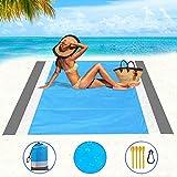 Best Beach Mats - Beach Blanket, Beach Mat Outdoor Picnic Blanket Large Review