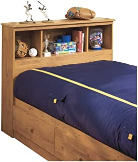 South Shore Little Treasures Bookcase Headboard with Storage, Twin 39