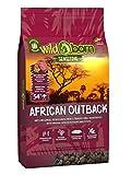 Getreidefreies Hundefutter mit Straußenfleisch von Wildborn African Outback | Gesundes Trocken-Futter mit hohem Fleisch-Anteil auch bei Allergie mit Kartoffeln ohne Mais und Weizen | Tier-Futter