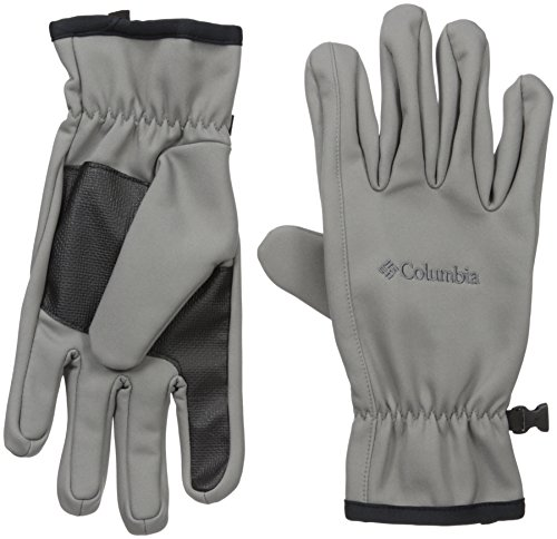 Columbia Men's Ascender Softshell Glove, Boulder, Small