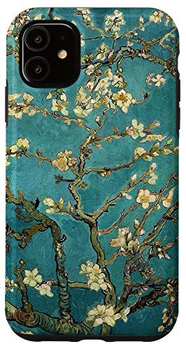 iPhone 11 Blossoming Almond Tree Van Gogh Fine Art Phone Cover Case