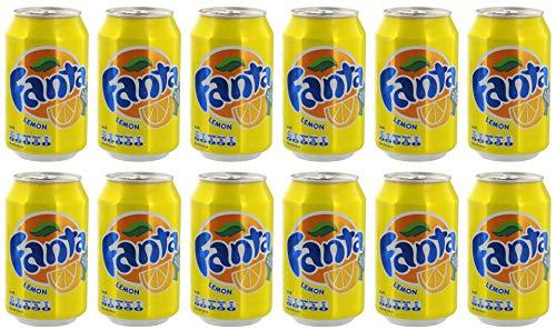 Fanta - Lemon Limonade - 12x0,33l inkl. Pfand