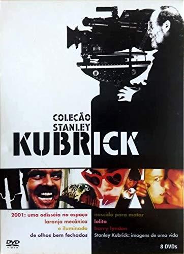 Coleção Stanley Kubrick - 8 Discos