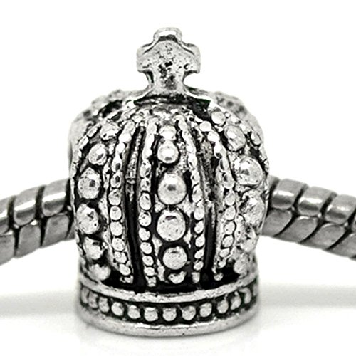 """Sexy Sparkles Mujer """"Royal Crown Charm"""" Bead Charm"""