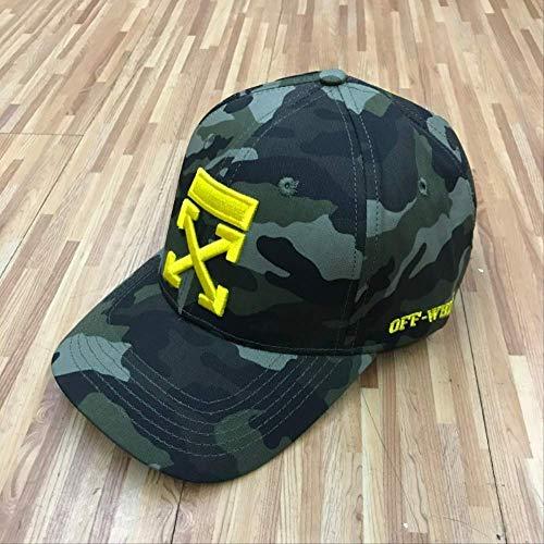 QQYZ Baseball-Kappe Herren Hip-hop Outdoor Biegemütze Sonnenhut Mit Einer Kappe Gewebt verstellbar Tarnung