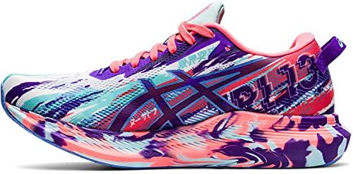 ASICS Damen Noosa Tri 13 Running Shoe, White/Periwinkle Blue, 40 EU