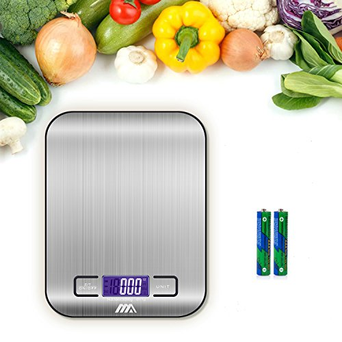 iHomy Stainless Steel Digital Scale – 1 g. to 11 lbs.