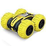 WZRYBHSD Coche De Control Remoto, Doble Cara Stunt RC Cars Multifunción Anfibio RC Monster Truck...