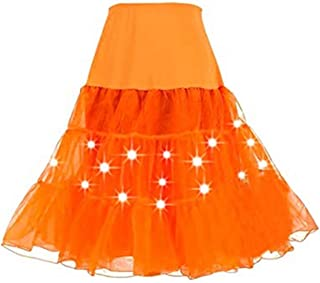 27cbd7f6b Amazon.es: falda tutu - Naranja