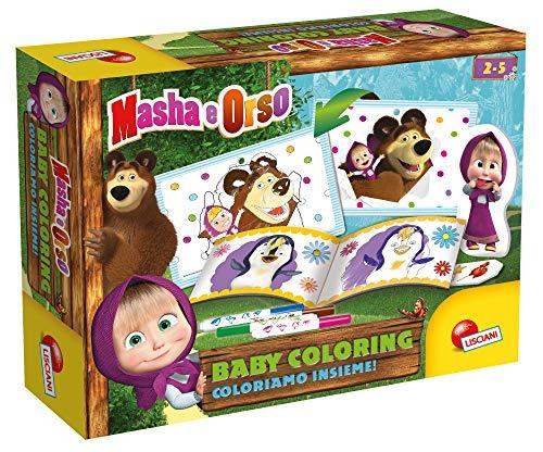 Lisciani Giochi Masha E Orso Baby Coloring, Coloriamo Insieme