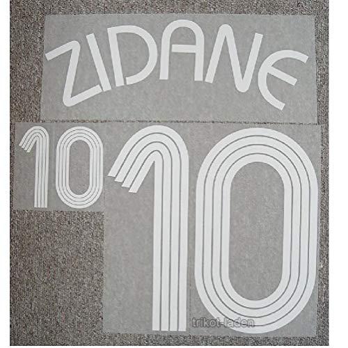 Frankreich France Flock Home Adidas Trikot Zinedine Zidane WM 2006 NEU