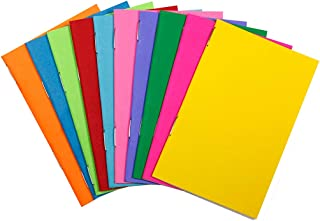 Hygloss Tiny Colorful Blank Books Notebook, Sketch Pad, Journal for Drawing, Writing and Scrapbooking, 2 ¾ x 4 ¼-inch-20 per Pack