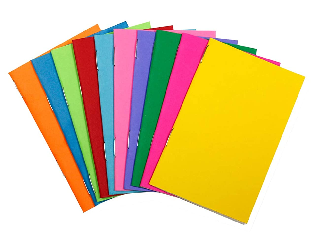 Hygloss Tiny Colorful Blank Books Notebook, Sketch Pad, Journal for Drawing, Writing and Scrapbooking, 2 ? x 4 ?-inch-20 per Pack