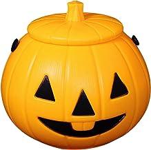 POHOVE Halloween Pompoen Lamp, Batterij aangedreven Pompoen Lantaarn Licht op Pompoen Lamp Met Geluid Halloween Pompoen Li...
