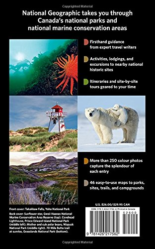 NG Guide to the National Parks of Canada, 2nd Edition (National Geographic) [Idioma Inglés]