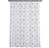 Amazon Basics Duschvorhang für Badezimmer, Regenbogen, 183 cm