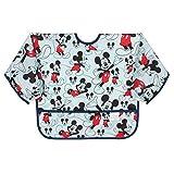 Bumkins Sleeved Bib Disney Baby Bib / Toddler Bib / Smock, Waterproof, Washable, Stain and Odor...