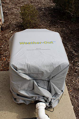 WEATHER-OUT Pool Heat Pump Cover (Adjustable to All Heat Pumps)