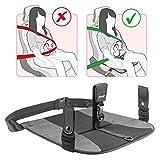 Reer - Cinturón de embarazo para coche, protección para el bebé y las embarazadas, cinturón de seguridad 2 en 1 para pantalones y faldas