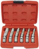 Famex 14870 - Chiave speciale con snodo per candelette, 8-16 mm, 6 pz...