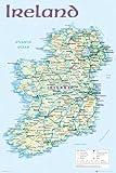 Ireland - Map 2012 Landkarten Irland Dublin Städte,
