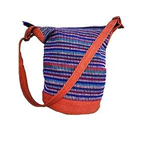 Cool Trade Winds Nepal Bolso de hombro con bolsillo interior Hippy Boho Festival Bolsa de hombro 100% algodón | DeHippies.com