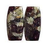Katy Craig AG-13701 - Coppia di pietre naturali per orecchini, creazione di gioielli