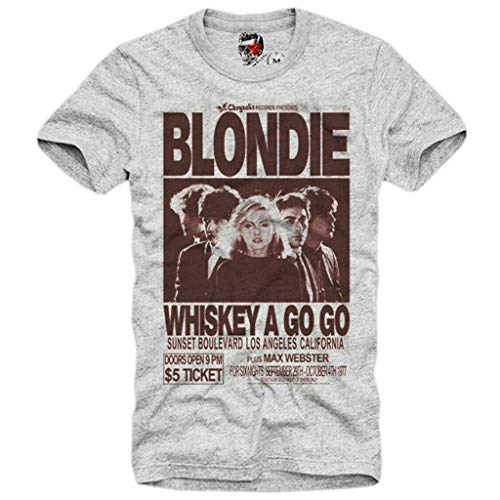 Blondie Whiskey A Go Go T-shirt for Men, XS to XXL
