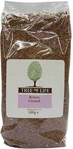 Tree of Life Linseed Brown 500g X (Pack 500g X 6)