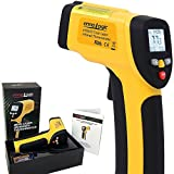 ennoLogic Temperature Gun (NOT for Body Temperature) - Dual Laser Non-Contact Infrared Thermometer...