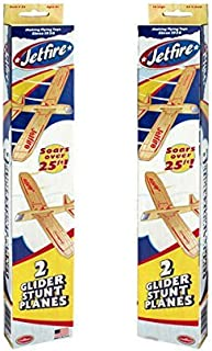 JETFIRE TWIN PACK (2 PACKS) = 4 PLANES by Guillow