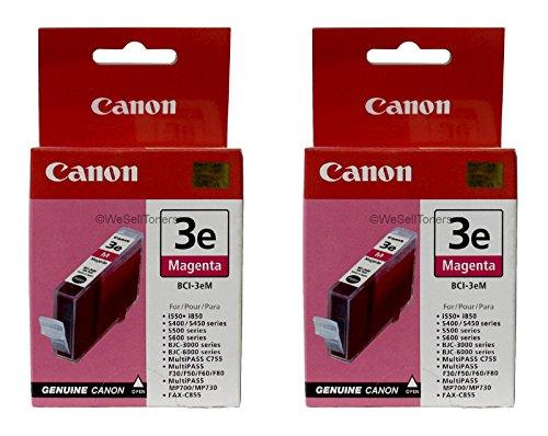 Lote de 2cartucho de tinta Canon BCI-3E Magenta