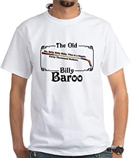 CafePress Caddyshack Billy Baroo White T Shirt 100% Cotton T-Shirt, White