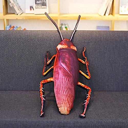 YYZZ Almohada de Felpa, 35 / 55cm Cucaracha Gigante 3D de Peluche de Felpa Suave Juguete para niños Cojín HomePillow Animales de Peluche Rellenos