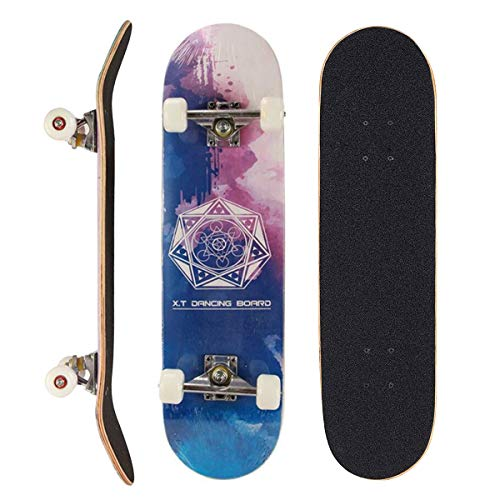 PowerRider Skateboards Standard Skateboards for Kids Boys Girls Youths...