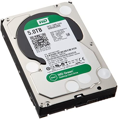 WD40EZRX Western Digital 4TB Internal Hard Drive IntelliPower 64MB Cache SATA 6.0Gb