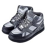 Zapatos Impermeables Para Hombre Pesca Botas De Balancín De Fieltro Suela Sole Nail Nail Nail Slip Para Facileta De Arrecife Al Aire Libre...