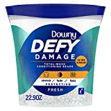 Downy Defy Damage Total-wash Fabric Conditioning Beads, Fabric Softener, Fresh, 22.9 Ounce