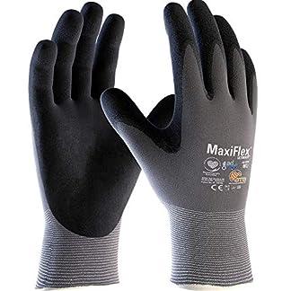 ATG 42-874 – Guante MaxiFlex® Ultimate™ con tecnología Ad-Apt, color gris/negro, talla 7