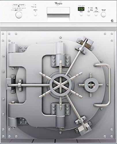 stickersnews–Magnet Spülmaschine Deko Tresor 60x 60cm OEM 027