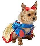 Rubie's Snow White Dog Fancy Dress Disney Princess Pet Puppy Animal Costume Medium