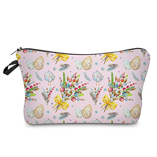 Cosmetic Bag MRSP Makeup bags for women, Small makeup pouch Travel bags for toiletries waterproof flowers (52423)