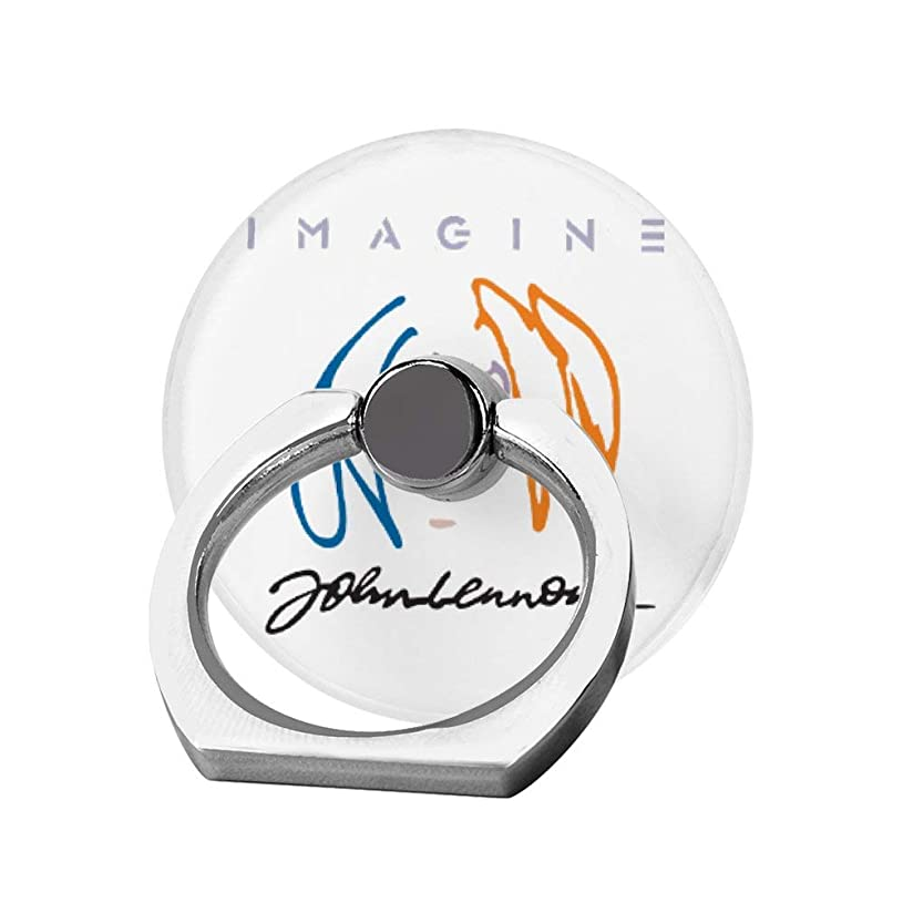 リア王グラディス暴徒スマホリング 携帯リング 指リング 薄型 落下防止 スタンド機能 ジョンレノン バンカーリング 指輪リング タブレット/各種他対応 360回転 スマホブラケット