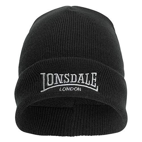 Lonsdale London Herren Beanies Dundee schwarz Einheitsgröße